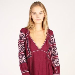 NWT Free People All My Life Minidress